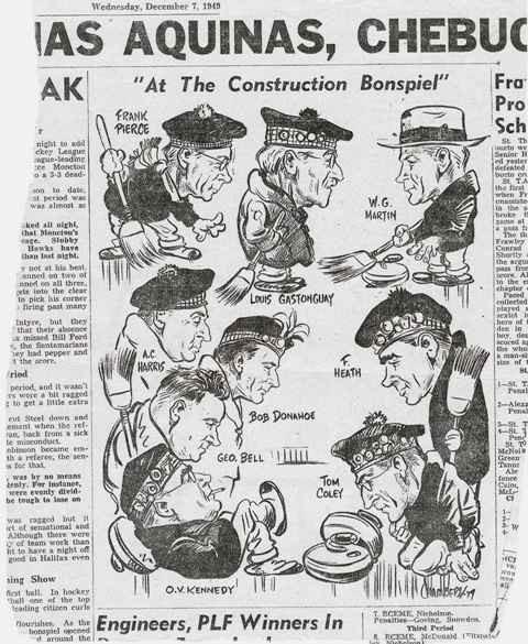 NSCCA 1949 Herald Cartoon Small